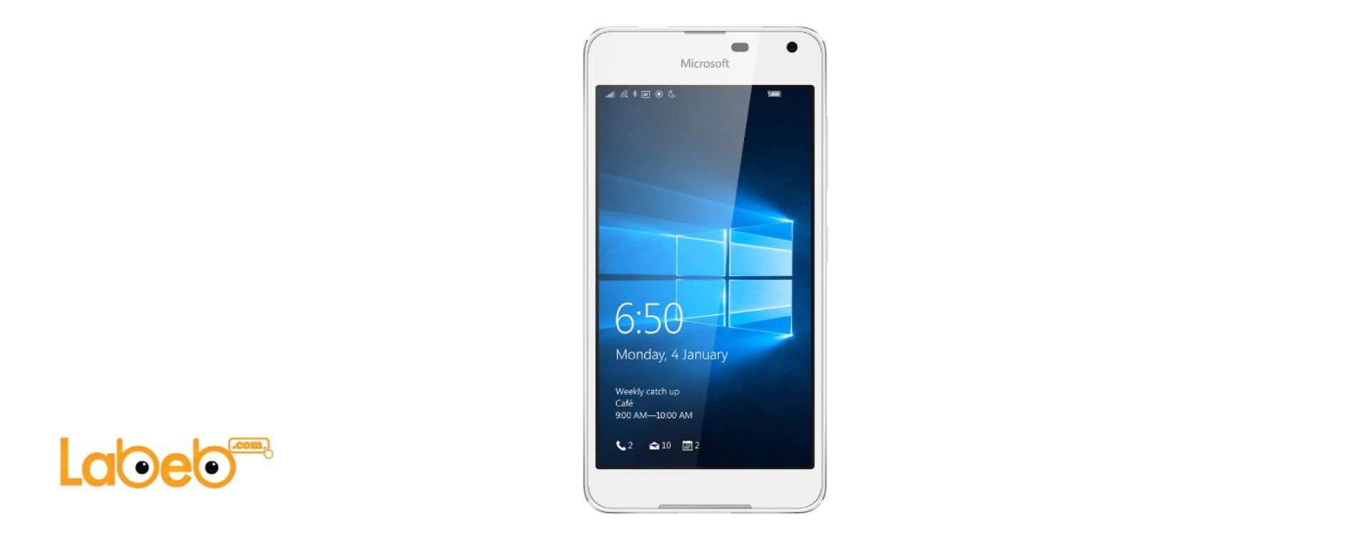 Microsoft Lumia 650 with specifications directed to the business sector