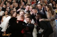 صورة السيلفي التي جمعت مشاهير السينما الأمريكية في حفل الأوسكار السادس والثمانين