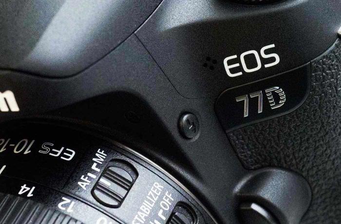 Canon 77D Camera