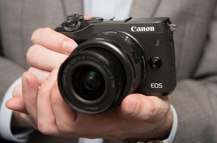 Canon M6 Camera