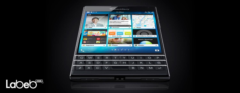 هواتف بلاك بيري باسبورت، تجمع ما بين الحجم الكبير شاشة لمس ولوحة مفاتيح، وتعمل بنظام التشغيل بلاك بيري 10