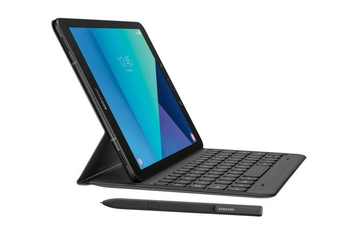 Samsung Galaxy Tab S3 with e-pen and keyboard