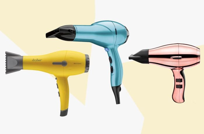 Different colors of Hair Dryers