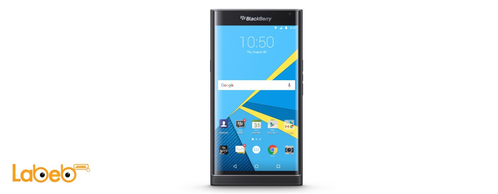 New BlackBerry Priv Specifications. Powered by Android for the first time.