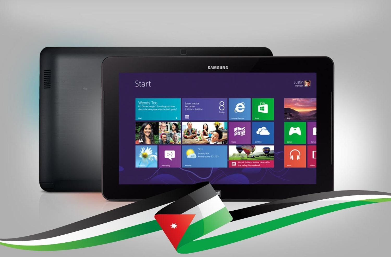 أجهزة تابلت سامسونج هي الأكثر شعبية في الشارع الأردني