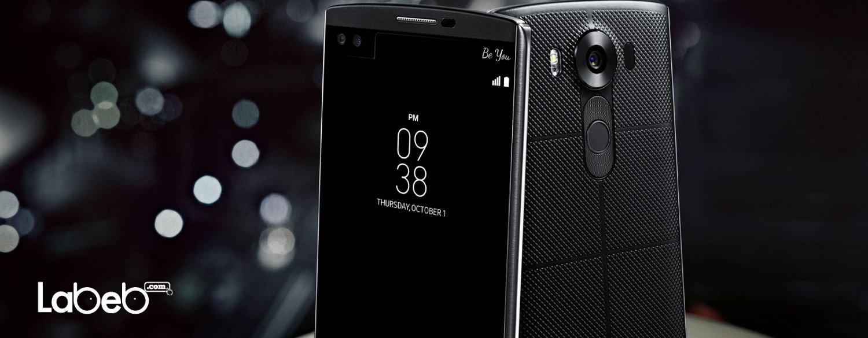 إل جي في 10 هاتف ذكي ذو شاشتين وكاميراتين أماميتين