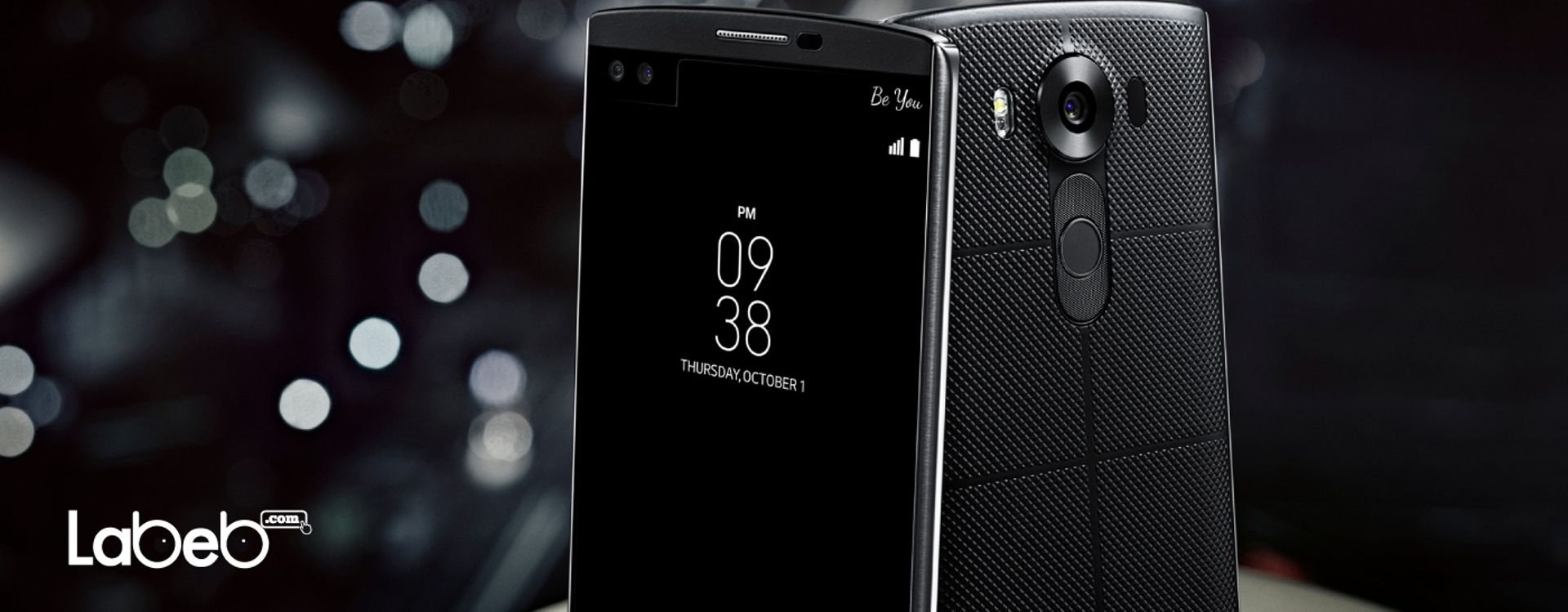 LG V10 Smartphone with 2 Screens and 2 Front Cameras.