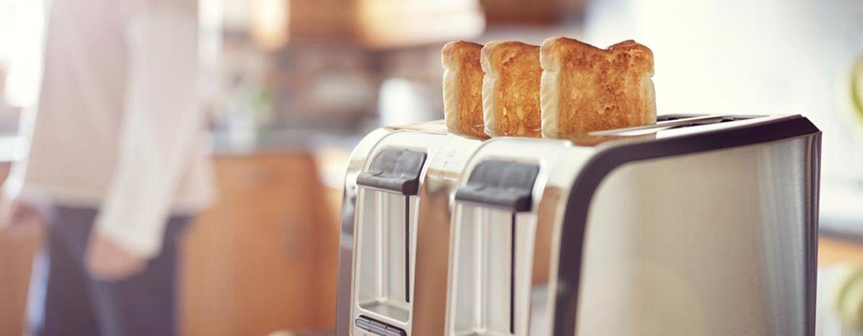 من الصعب تسخين خبز التوست وتحميصه سوى عبر جهاز التحميص أو التوستر.
