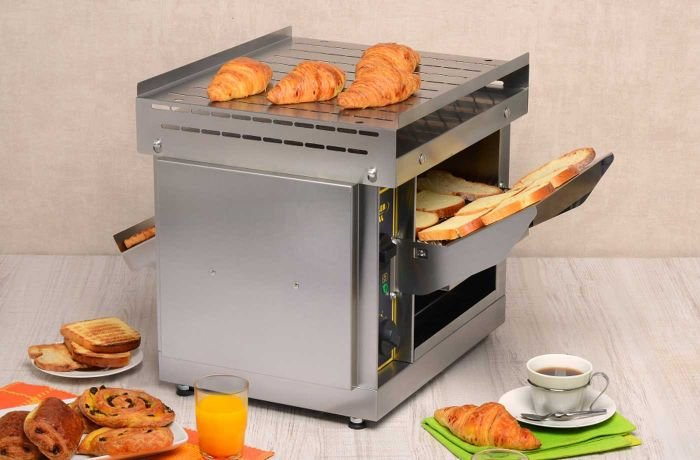 Multipurpose toaster.