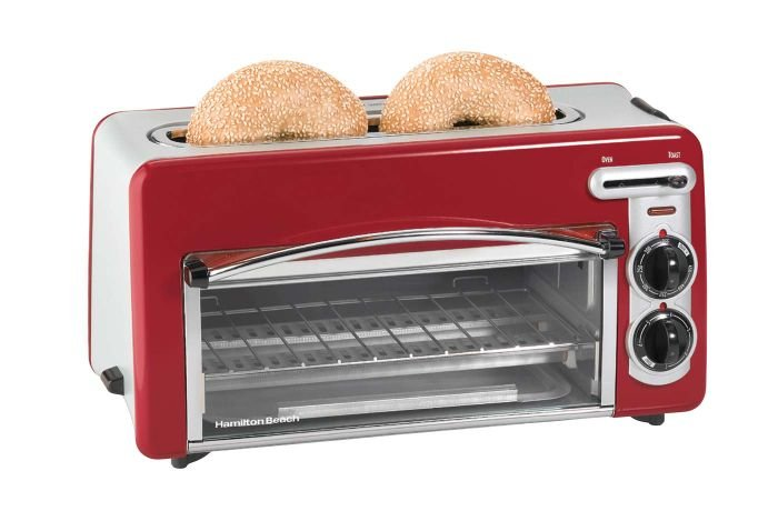 Toaster with a small oven