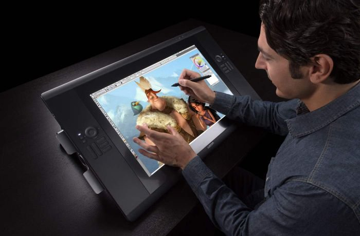 Bright screen Graphic Tablet