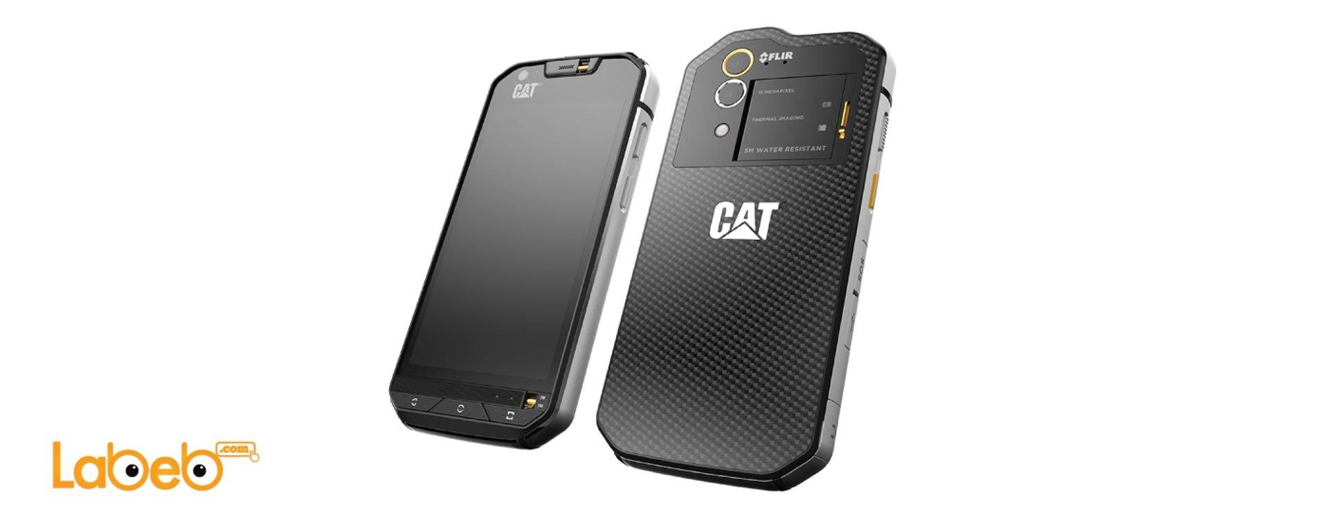 هاتف كات إس 60 أول هاتف ذكي في العالم مزوّد بكاميرا حرارية