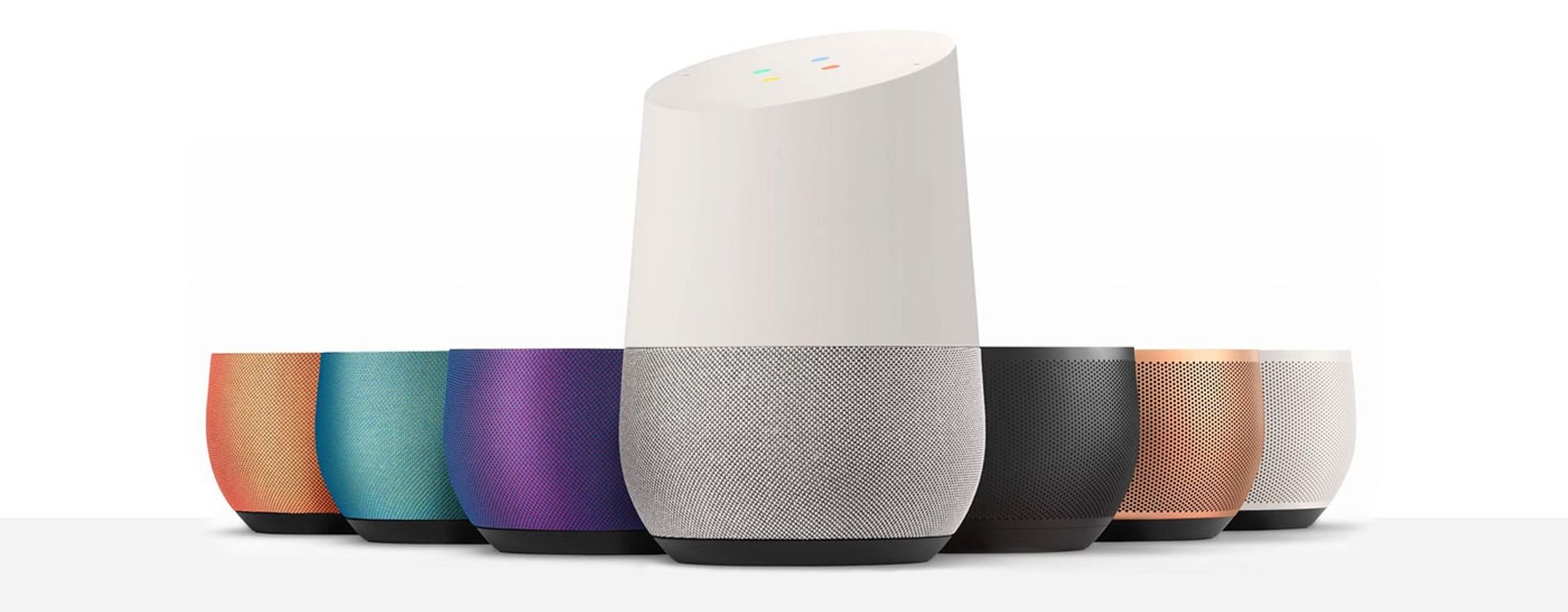 Google Home: a new innovative device working on voice command to assist you at home.