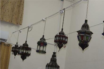 מנורות מרוקאיות