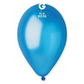 בלון g11 מטאלי כחול 36 100 יח