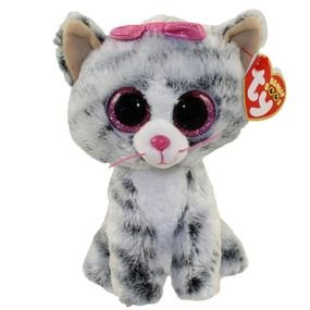 ty لعبة فرو عيون كبيرة (m) كيكي القطة