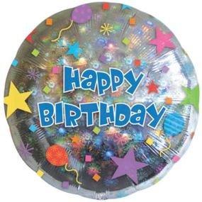 בלון מיילר 18- יום הולדת כוכבים דזלר