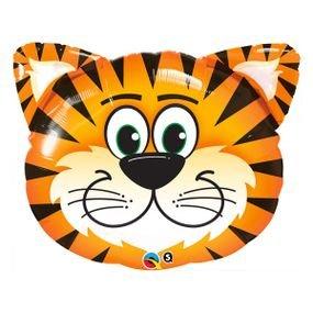 """بالون 30"""" رأس نمر ضاحك"""