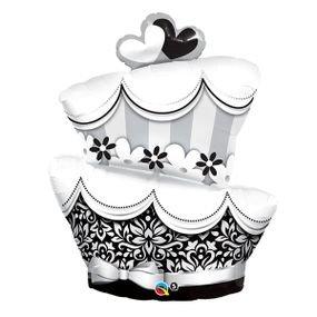 """בלון 36"""" עוגת לציון חתונה/נישואין"""