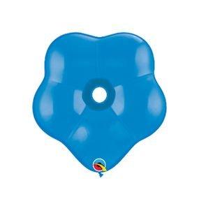 בלוןq16 פרח כחול כהה 25 יח'