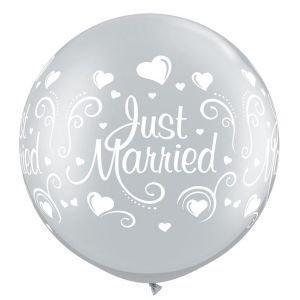 "بالون 30""  just married"