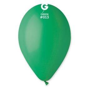 "بالون 10""  اخضر غامق"