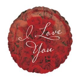 בלון מיילר 18- i love u אדום