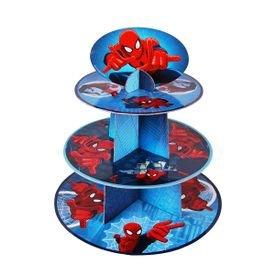סטנד לקאפקייקס 3 קומות-דגם ספיידרמן