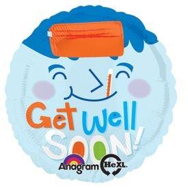 בלון מיילר 18- החלמה get well soon חולה