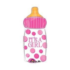 """بالون 18"""" بنت قنينة it's a girl"""