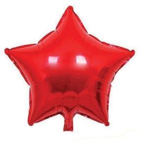 "بالون 18"" نجمه احمر"
