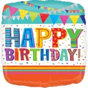 בלון מיילר 18- יום הולדת מסיבת מבריק