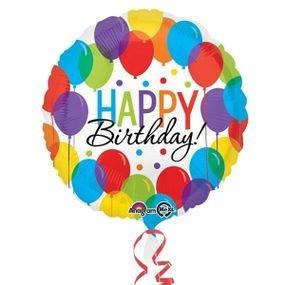 בלון מיילר 18- יום הולדת ערימת בלוניםhbd