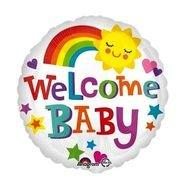 בלון מיילר 18-welcome baby