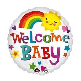 """بالون 18"""" welcome baby"""