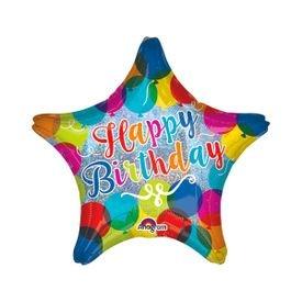 בלון מיילר 18- יום הולדת בלונים מנצנצים