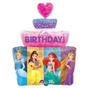 """بالون 26"""" كعكة عيد ميلاد اميرات"""