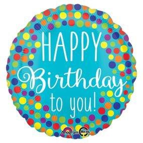 בלון מיילר 18- יום הולדת שמח לך נקודות
