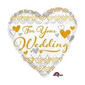 """בלון 18"""" לכבוד החתונה"""