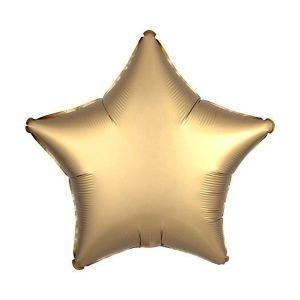 בלון מיילר 18- חלק כוכב זהב מט כרום אנגרם