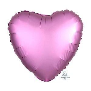 """بالون 18"""" قلب وردي خروم"""