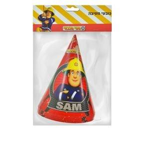 כובעים ליום הולדת 6 יח' - סמי הכבאי