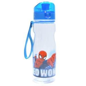 مطرة ماء بلاستيك شفاف 700 مل سبايدرمان