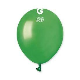 בלון 5'' מטאלי- ירוק 37  100 יח
