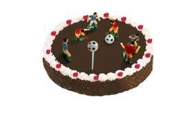 קישוט עוגה שחקני כדורגל