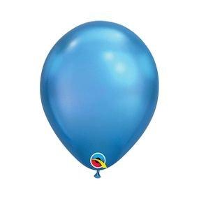 בלוןq11כרום כחול - 100 יח