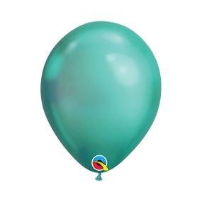 בלוןq11כרום ירוק - 100 יח