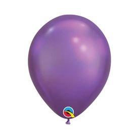 בלוןq11כרום סגול - 100 יח