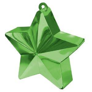 משקולת לבלונים - כוכב ירוק