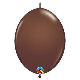 בלוןq12לינק שוקולד חום - 50 יח
